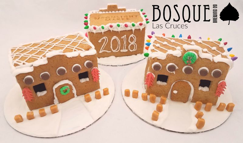 Build Your Own Adobe Gingerbread House @ Bosque Las Cruces