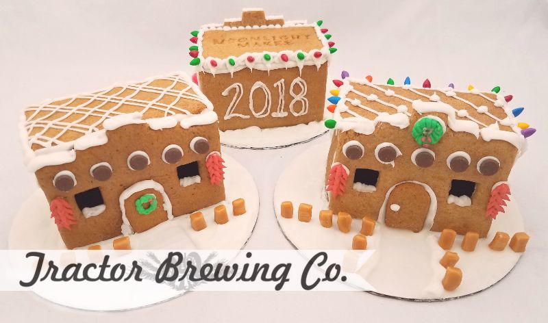 Build Your Own Adobe Gingerbread House @ Tractor Four Hills (8:00 pm)