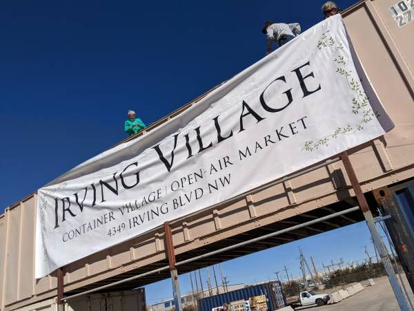 Irving Village - Open-Air Market and Container Village