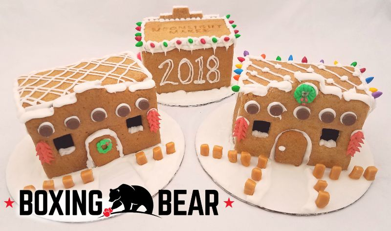 Build Your Own Adobe Gingerbread House @ Boxing Bear 8:00 pm