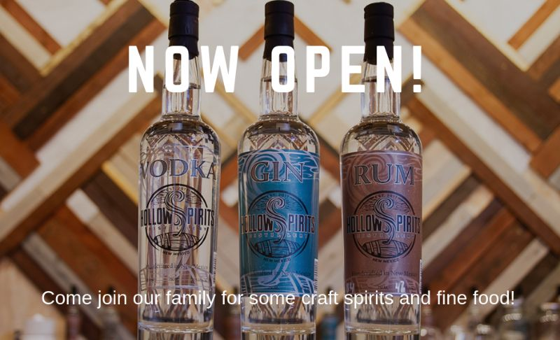 Hollow Spirits Distillery GRAND OPENING EVENT