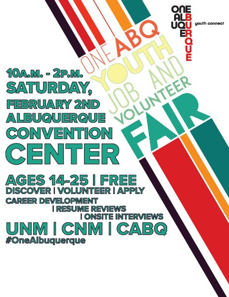 2019 One ABQ Youth Job and Volunteer Fair
