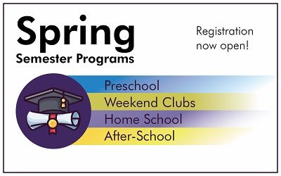 Register for Spring Programs at Explora