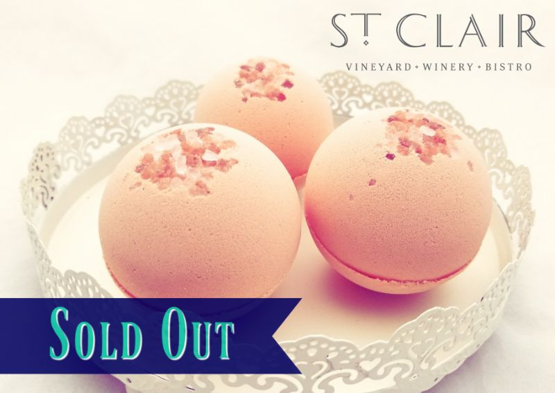 SOLD OUT - Make Bath Bombs at St. Clair Winery