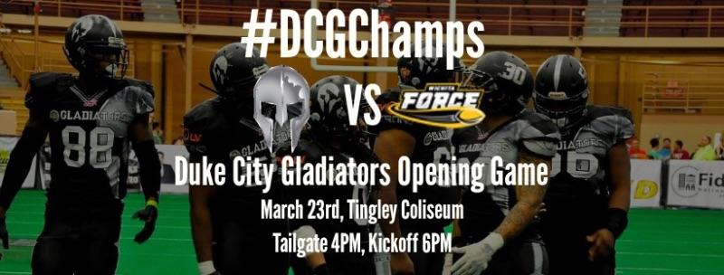 Duke City Gladiators vs. Salina