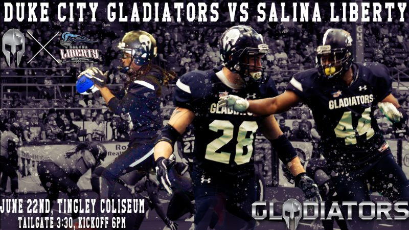 Duke City Gladiators vs. Salina