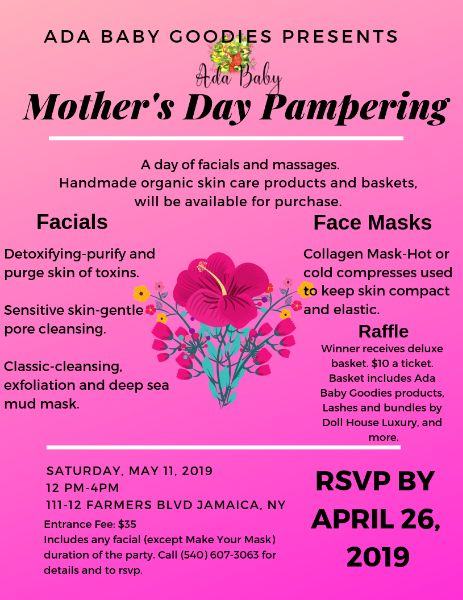 Mother's Day Pampering