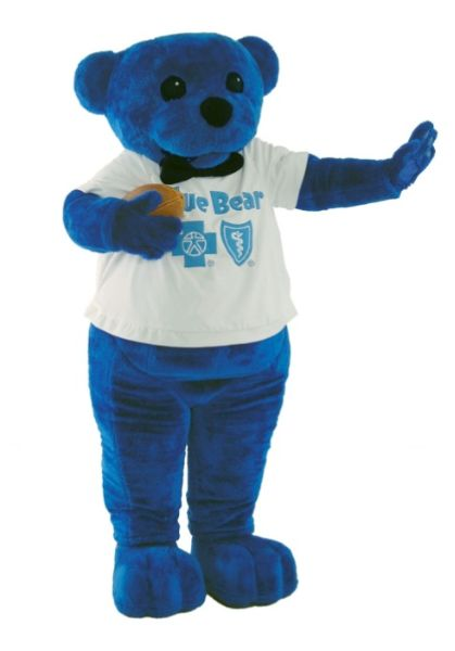Blue Bear at Story Time!