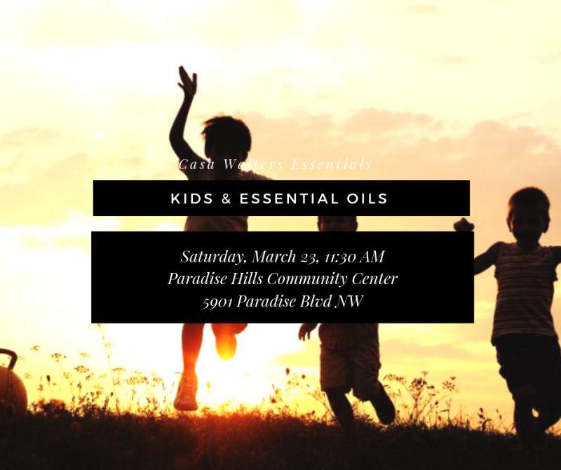 Kids & Essential Oils