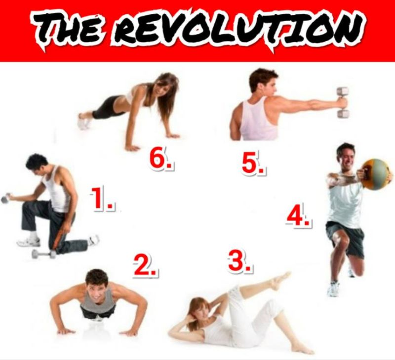 The rEVOLUTION Full Body Circuit Training