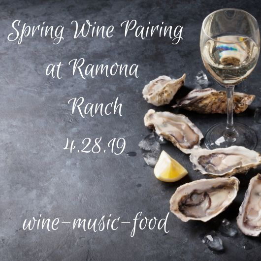 Spring White Wine & Oyster Pairing