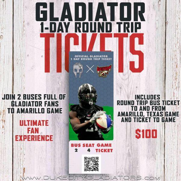 Amarillo Bus Trip Ticket