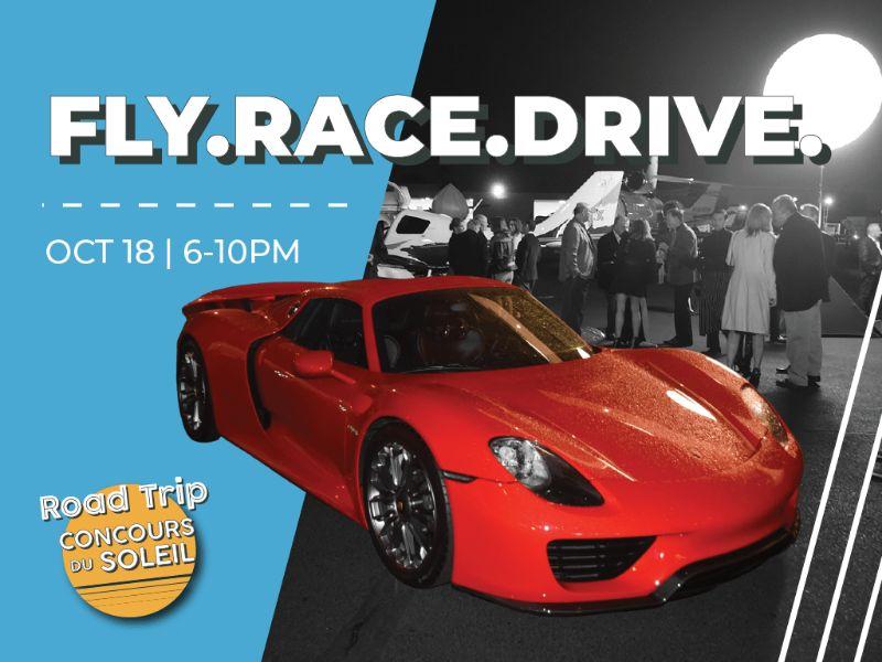 Concours du Soleil Fly. Race. Drive.