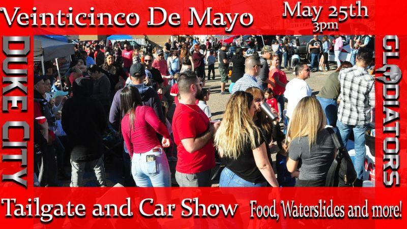 #DCGChamps Venticinco De Mayo Car Show