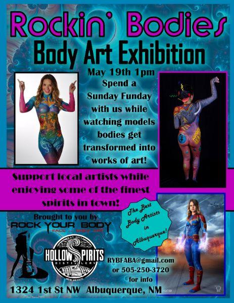 Rockin' Bodies - Body Art Exhibition