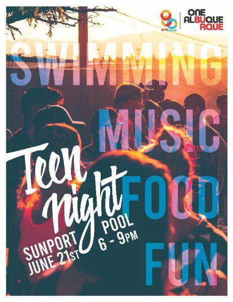 Teen Nights - 2019 Kick Off Pool Party