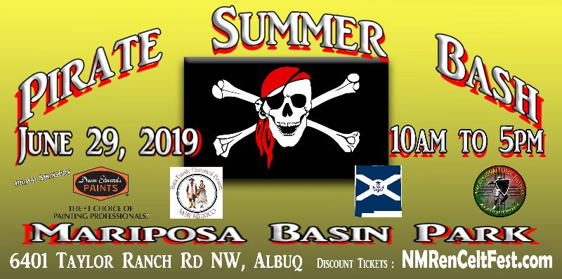 Pirate Summer Bash