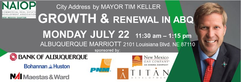 "City Address by MAYOR TIM KELLER | ""GROWTH & RENEWAL IN ABQ"""