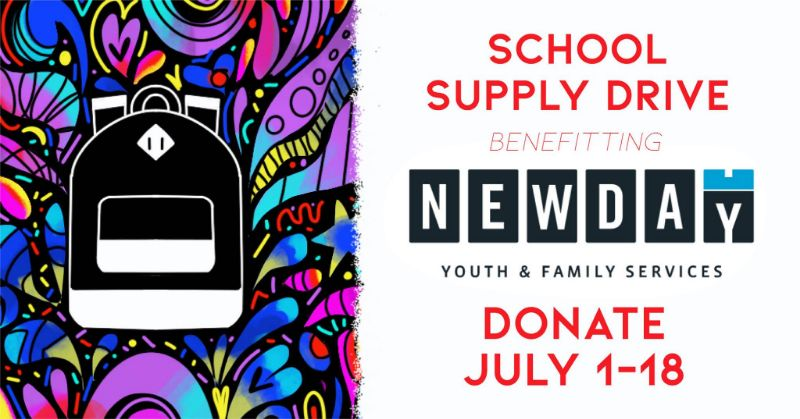 Newday School Supply Drive