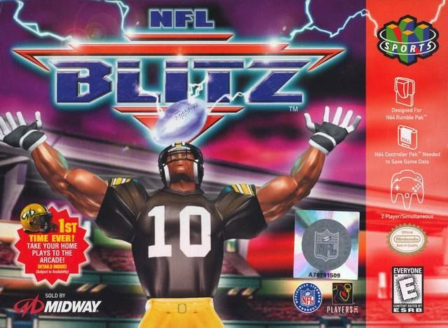 NFL Blitz N64 Tournament