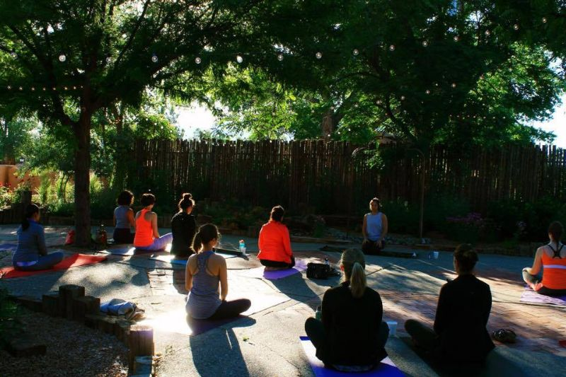 Outdoor Sunrise Yoga
