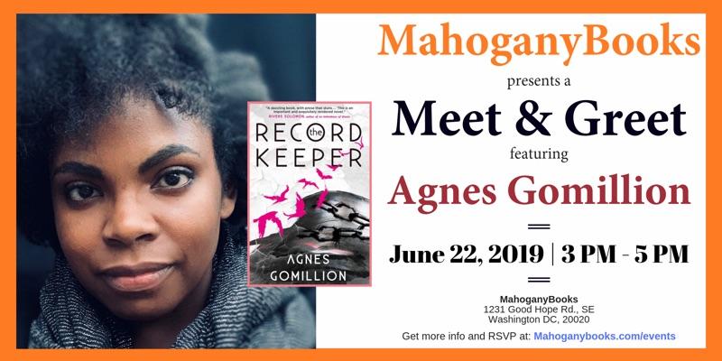 A Meet & Greet Featuring Agnes Gomillion