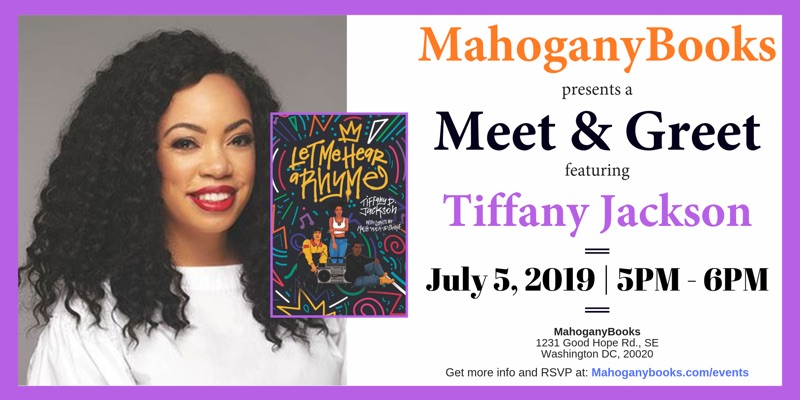 A Meet & Greet Featuring Tiffany Jackson