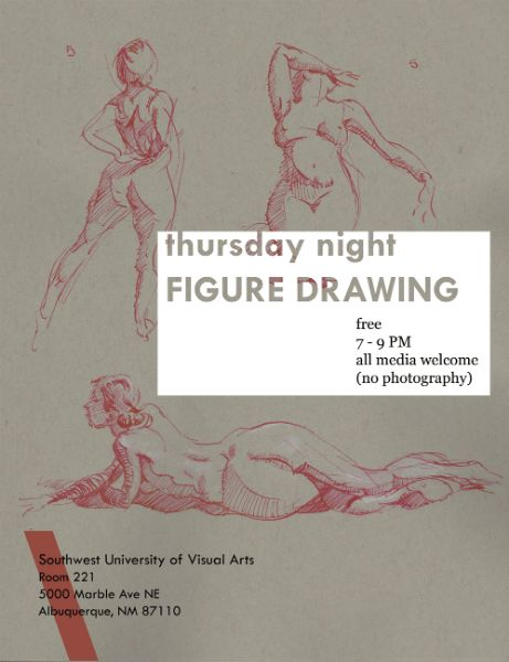 Free Figure Drawing at SUVA