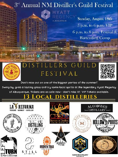 3rd Annual NM Distiller's Guild Festival & Bartending Comp