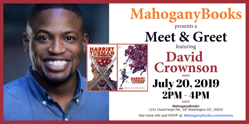A Meet & Greet Featuring David Crownson