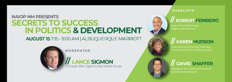 NAIOP Breakfast for Winners! | Tues, August 15th, 7:15 - 9:00 AM