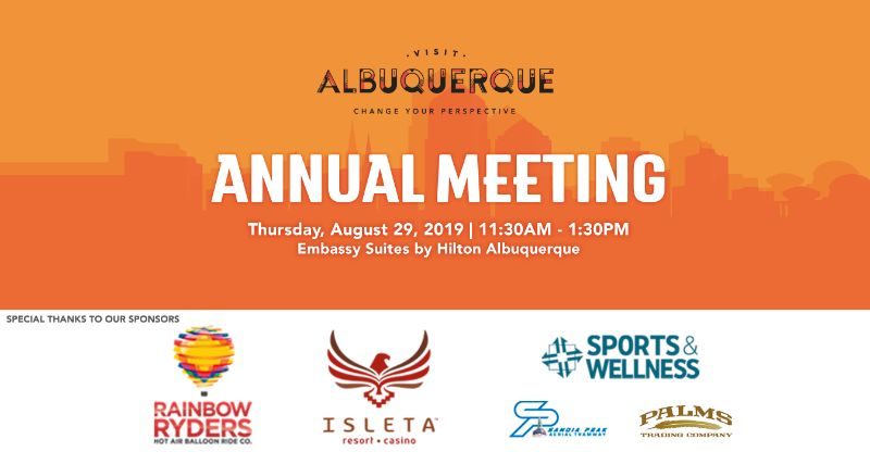 Visit Albuquerque 2019 Annual Meeting Luncheon