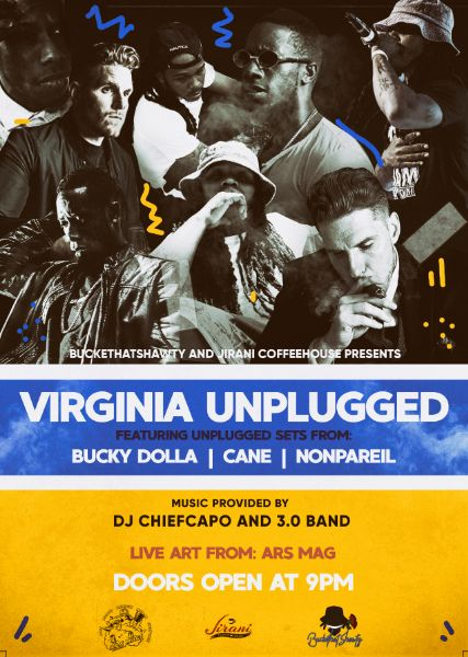 BucketHatShawty and Jirani CoffeeHouse Presents: VA Unplugged