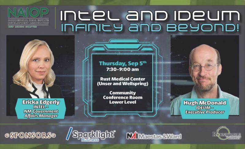Intel & Ideum...Infinity & Beyond, NAIOP RRRT on Sept. 5, 2019
