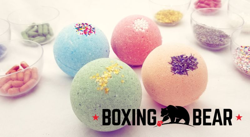 Make Bath Bombs at Boxing Bear