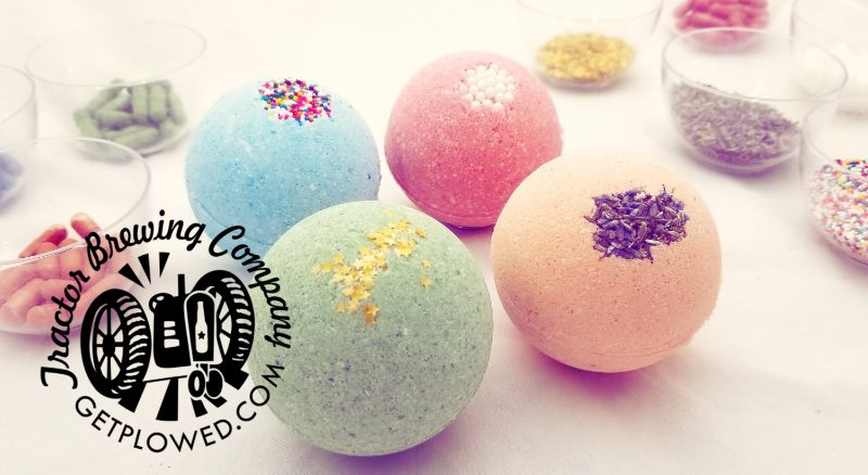 Make Bath Bombs at Tractor Four Hills