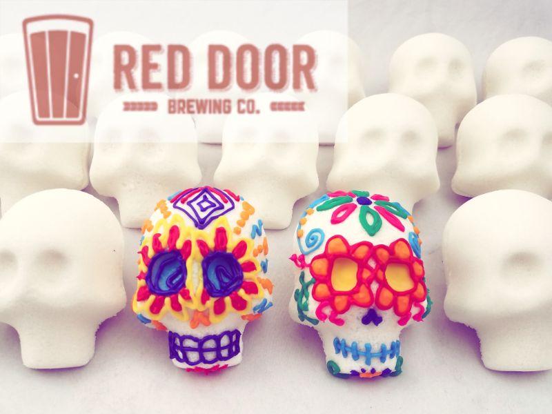Decorate Traditional Sugar Skulls at Red Door Brewing