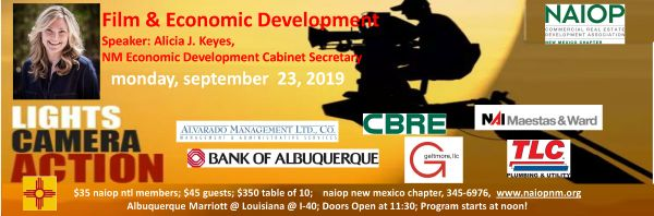 Film & Economic Development in NM  w/ Alicia Keyes, Cabinet Sect.