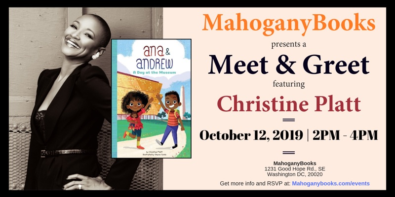 A Meet & Greet Featuring Christine Platt