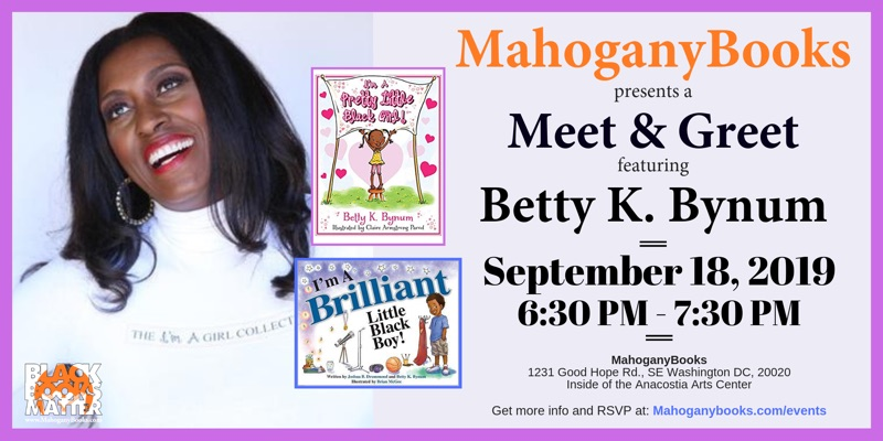 A Meet & Greet Featuring Betty K. Bynum