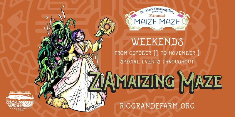 General Admission ZiAmaizing Maze at Rio Grande Community Farm