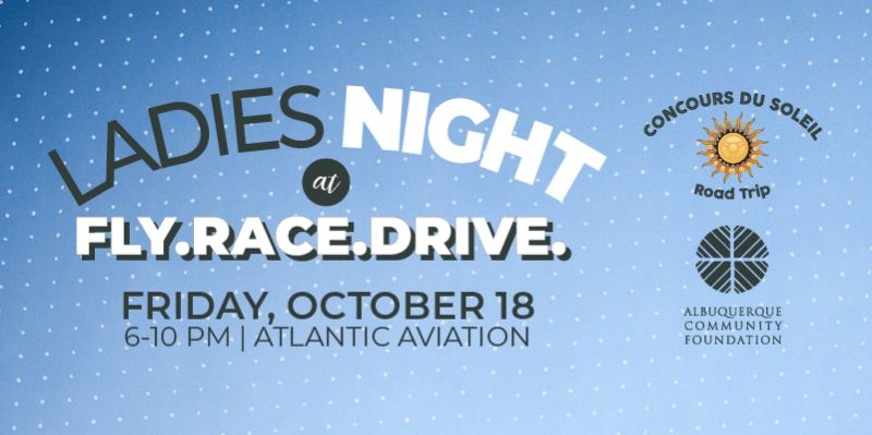 Ladies Night at Fly. Race. Drive.