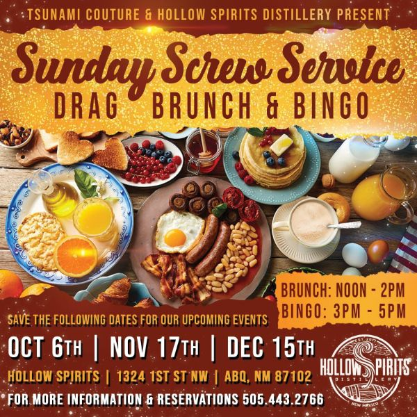 Sunday Screw Service - Drag Bingo & Brunch