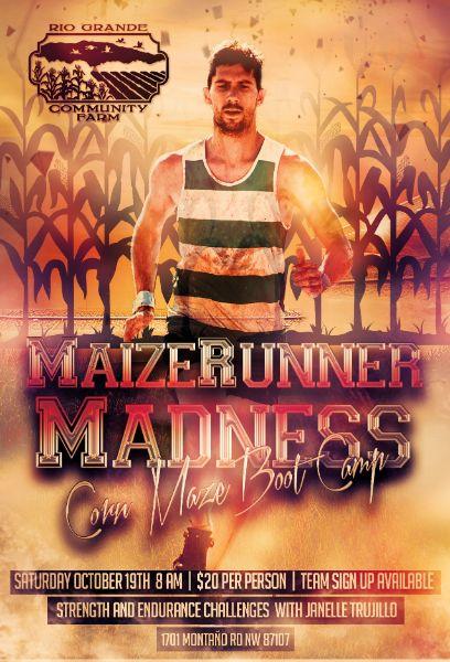 Maize Runner Madness (Corn Maze Bootcamp)