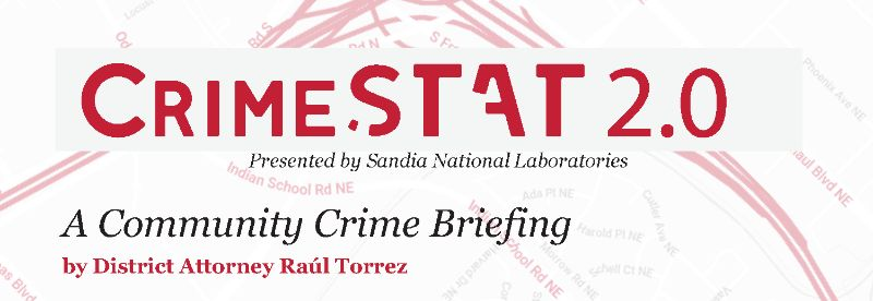 2019 CrimeSTAT Briefing w/ D.A. Raul Torrez