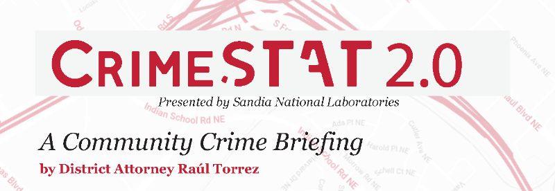 2019 CrimeSTAT Briefing w/ D.A. Raul Torrez