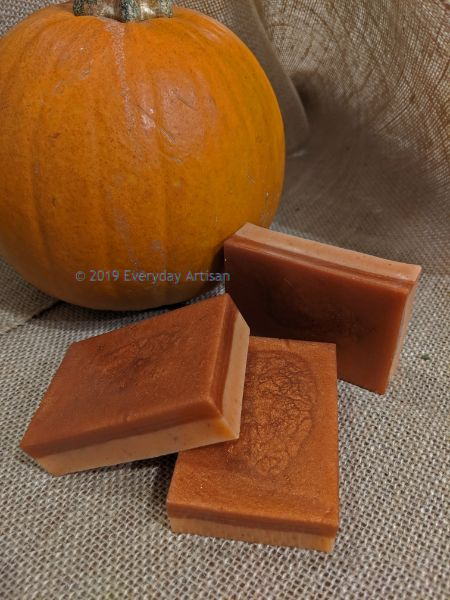 Soap Making - Oh My! Pumpkin Pie