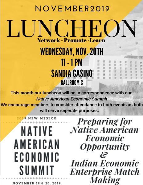 AICCNM November Luncheon