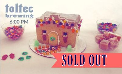 Make Your Own Adobe Gingerbread House at Toltec