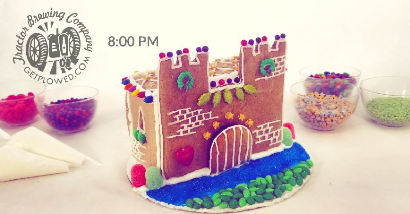 Make Your Own Gingerbread Castle at Tractor Four Hills